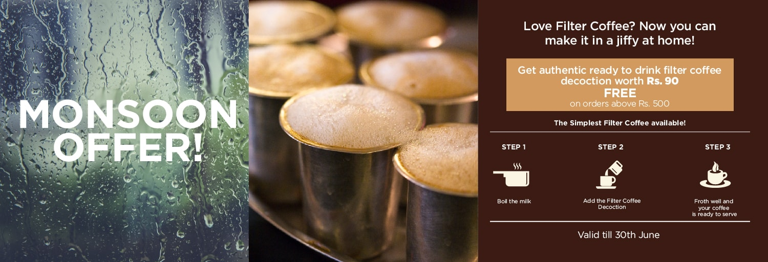 Filter Coffee Monsoon Offer