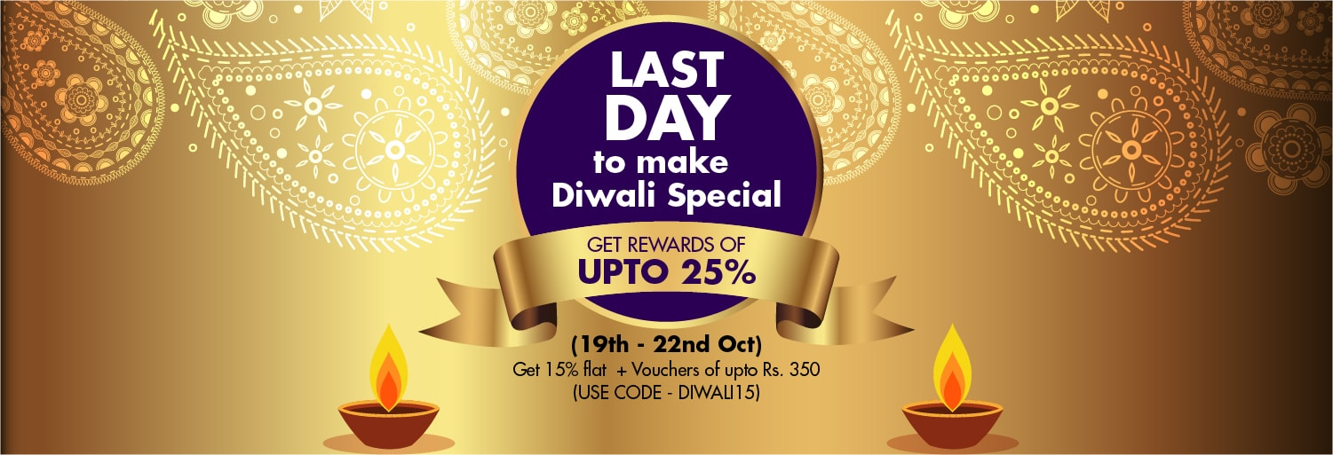 Diwali 4 Day offer