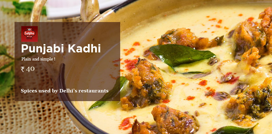 Punjabi Kadhi masala - Masala and Mixes