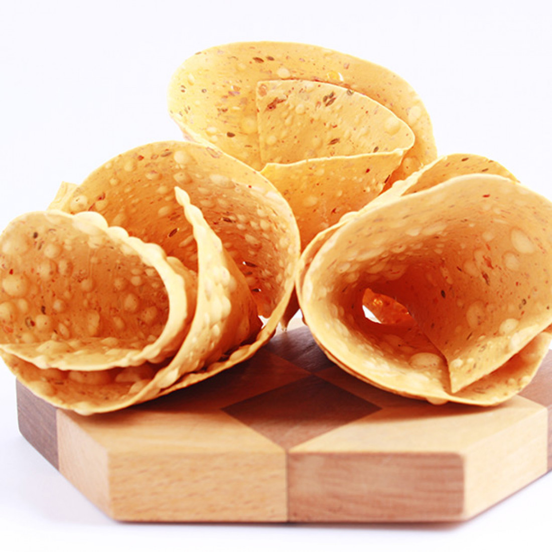Chana Lehsun Papad