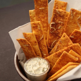 Baked Pizza Stick Dippers