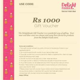 Gift Voucher - Rs.1000