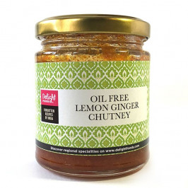 Lemon Ginger Chutney oil free