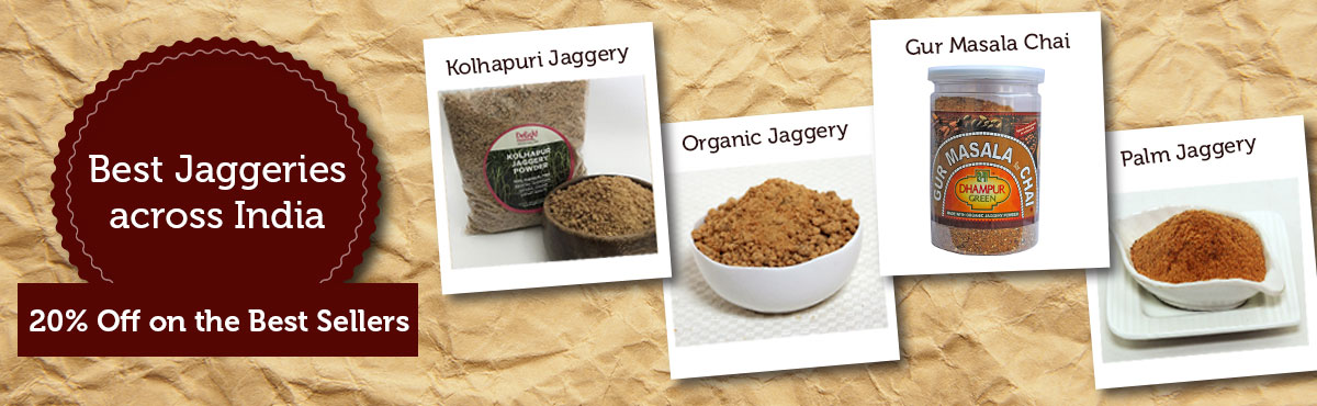 Dhampure Jaggery offer- 20% off